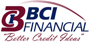 bci financial logo with tagline